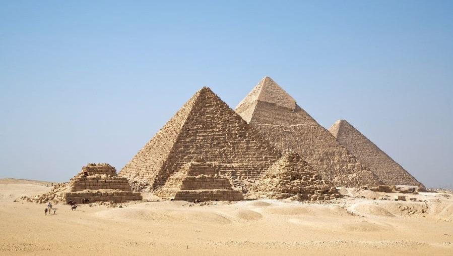 Giza plateau krachtplaats